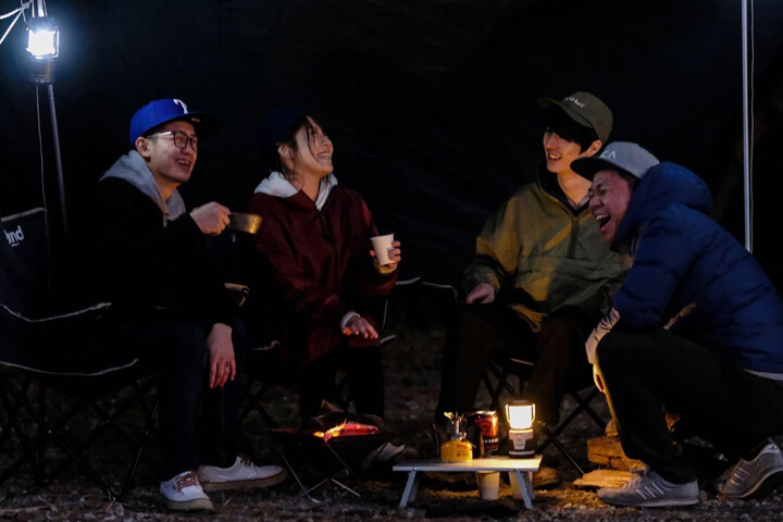 キャンプで楽しむ缶ワイン