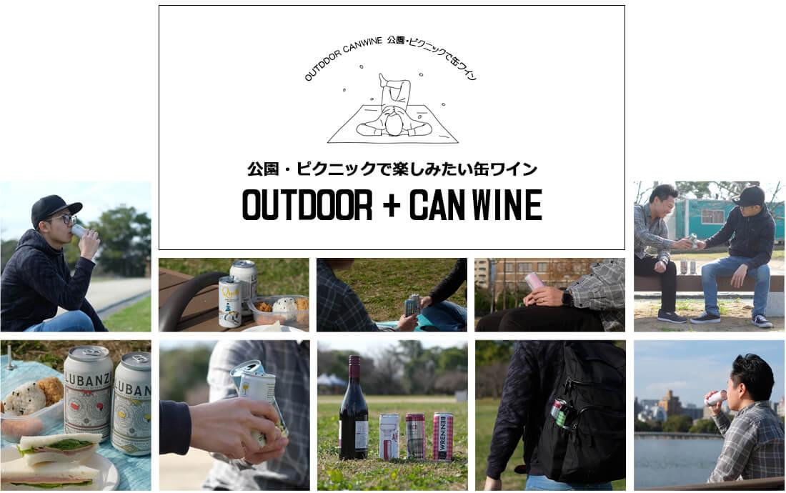 公園飲みやピクニック缶ワインの魅力