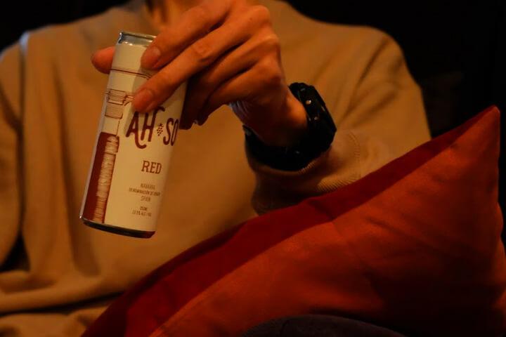 眠れない時にサポートする缶ワイン